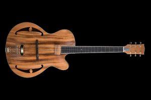 chitarra-archtop-acero-marezzato-liuteria-Shank-Instruments-Milano
