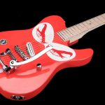 Telecaster-bigsby-single-pickup-handmade-liuthery-red