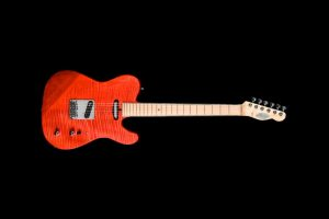 Shank-Instruments-Telecaster-guitar-replica-liuthery-flamed-maple-red-di-marzio